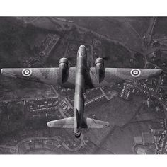 Superb shot of a Vickers Wellington bomber in flight- IWM's (Imperial War Museum)