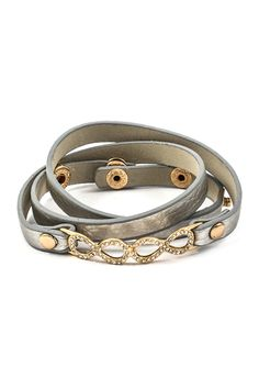 Double Infinity Crystal Bracelet.