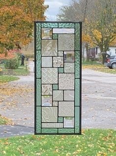 Hanging Stained Glass, Stained Glass Door, Stained Glass Designs, Stained Glass Projects, Stained Glass Patterns, Leaded Glass, Mosaic Glass, Modern Stained Glass Panels, Arte Art Deco