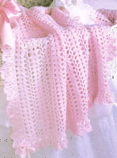 ruffles and ribbons afghan patter