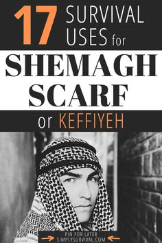 The shemagh scarf is a traditional headwear in the Middle East. It is also known as a keffiyeh, ghutrah, mashadah, cemedani, and more. These different names reflect different cultures and countries of origin. It is widespread in all Arab countries, so we usually relate this item to the Arab world. But, what does it have to do with survival? For starters, it is a standard garment of military forces in dozens of countries, particularly of special forces. Read article for more! #simplysurvival