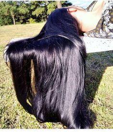 Long Dark Hair, Medium Long Hair, Very Long Hair, Indian Long Hair Braid, Braids For Long Hair, Beautiful Long Hair, Gorgeous Hair, Nose Makeup, Lavender Hair Colors