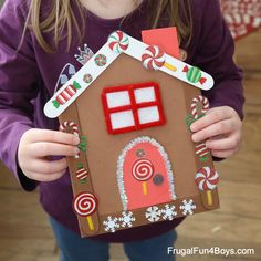 Craft Stick Gingerbread House Craft Craft Stick Gingerbread House Craft This Gingerbread House is the Most Adorable Christmas Craft for Kids! Frugal Fun For Boys and Girls The post Craft Stick Gingerbread House Craft appeared first on Craft for Boys. Preschool Christmas Crafts, Christmas Crafts For Kids To Make, Crafts For Boys, Christmas Activities, Toddler Crafts, Craft Stick Crafts, Kids Christmas, Holiday Crafts, Christmas Tables