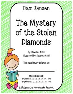 Cam Jansen is a mystery-solving machine!  Students will love Cam's first mystery-solving experience, and this novel study will guide them through each chapter with before reading, during reading, and after reading questions in a student-friendly and consistent format!