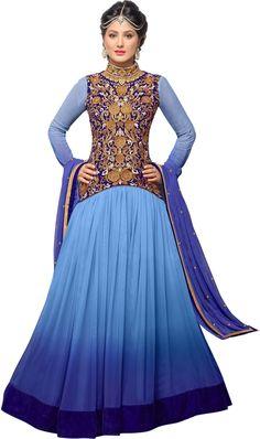 #BuyFromLink --> http://fkrt.it/bxuKYNNNNN #CutiePie #Hina #Women's #Embroidered #Semi-stitched #Salwar #Suit #Dupatta #Material #Anarkali #Dress #SalwarKameez #RoyalBlue #Blue #Pink #Designer #Salwar #Kameez #Chiffon #Dupatta #Awesome #Indianfashion #Gorgeous #look #style  #Shop #Buy #online #india