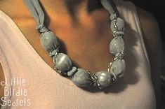 Image result for Bead Necklace Tutorial