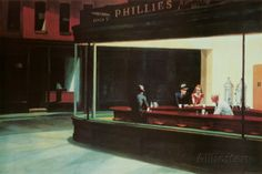 Nighthawks, c.1942 Posters by Edward Hopper at AllPosters.com... This is $4.99?
