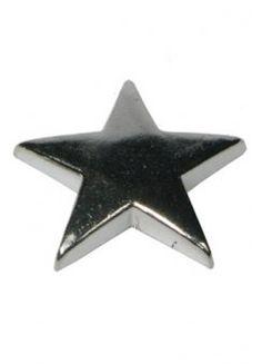 10 x Flat Star Studs