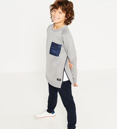Image 1 of Sporty collection sweatshirt from Zara