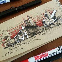 Resultado de imagen para quick arq. sketch #modernarchitectureschool
