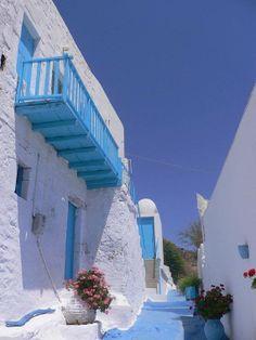 Alley in Milos