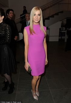 Ralph Lauren hot pink dress