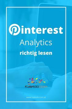 Pinterest Analytics: so liest Du die Zahlen richtig. #pinteresttipp #pinterestmarketing