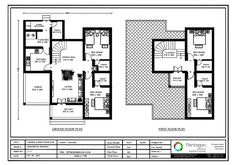 4 Bedroom house plans, 4 bedroom house plans in kerala, 4 bedroom 2 story house plans kerala bhk home design, 4 bhk duplex house plan Duplex House Plans, New House Plans, Modern House Plans, House Floor Plans, 2 Bedroom House Design, 2 Bedroom House Plans, Duplex House Design, Modern Small House Design, Contemporary House Plans