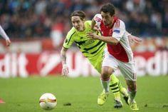 """Frank de Boer. De Duitser maakte afgelopen donderdag tegen Celtic (2-2) zijn debuut voor Ajax. """"Hij mag terugkijken op een redelijk debuut"""", vertelt De Boer."""