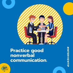Demonstrate confidence by standing straight, making eye contact and connecting with a firm handshake. That first nonverbal impression can be a great beginning—or quick ending—to your interview. Job Interview Tips, Philippines, Confidence, Connection, Eye, How To Make, Self Confidence