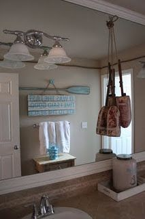 Beach Themed Bathroom Decorating Ideas | Interior PIN | Summer Plans For  The New House! | Pinterest | Beach Themed Bathrooms, Beach And Interiors