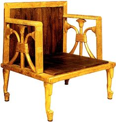Queen Hetepheres' chair