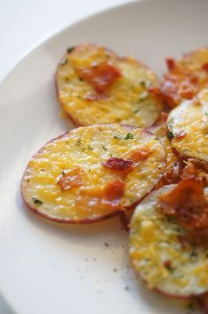 Loaded Baked Potato Rounds.....YUM!!!! I love anything that has to do with a potato...