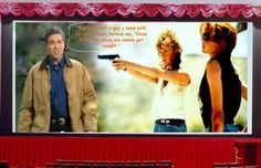 """""""You shoot off a guy's head with his pants down, believe me, Texas is not the place you wanna get caught.""""  - LOUISE (Susan Sarandon) in Thelma & Louise (1991)  ......and Rick......'take two'"""