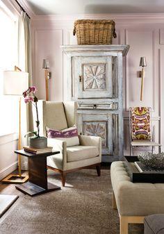 Room by the fabulous designer Laura Walker Baird! 2012 Inspiration House | Atlanta Homes & Lifestyles