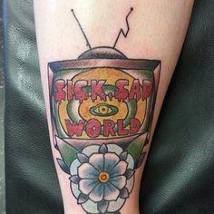 Y aquí otro del show favorito de Daria, Trent y Jane, con color y un poco más literal. | 18 Tatuajes de Daria que toda persona amargada va a querer tener