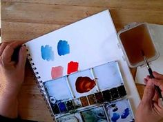 Artist/Instructor Cathy Johnson's Watercolor Sketching Lessons from Strathmore 2012 Online Workshops,
