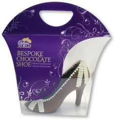 Chocolate Cadbury Shoe - Just one of the items our talented chocolate making team create. Organic Chocolate, Raw Chocolate, How To Make Chocolate, Chocolate Lovers, Chocolate Making, Cadbury Chocolate, Chocolate Heaven, Cadbury World, Handmade Chocolates