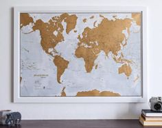 Personalised Antique World Map Travel Maps Vintage Travel And - Huge classic world map