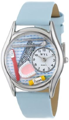 Whimsical Watches Women's S0610004 Dentist Baby Light Blue Leather Watch Whimsical Watches http://www.amazon.com/dp/B000XSU5MC/ref=cm_sw_r_pi_dp_23REwb13Q384X