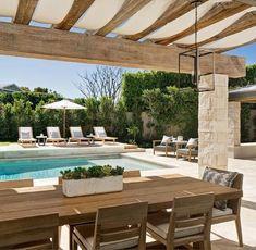 Metal Pergola, Cheap Pergola, Wooden Pergola, Outdoor Pergola, Backyard Pergola, Pergola Shade, Pergola Plans, Outdoor Dining, Outdoor Decor