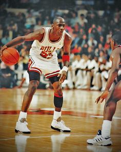 Michael Jordan . He is the reason why the magic are happens in basketball :). Legend