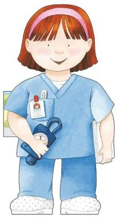 Nurse (Little People Shape Books): Caviezel, Giovanni