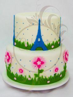 Caketutes Cake Designer: Paris Cake - Bolo Paris