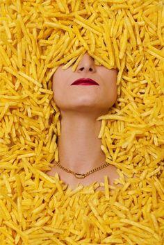 "I ❤ COLOR AMARILLO ♡ Miss ""Papas fritas"""