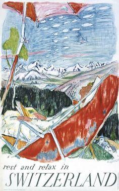 Alois Carigiet, Switzerland