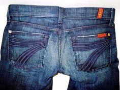 #7ForAllMankind Capri #Dojo #Jeans #WideLeg #WomensJeans #WomensFashion #DenimJeans