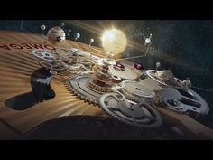 """Awesome ad featuring mechanical watch movements, and even an orrery! --- """"OMEGA Co-Axial Chronometer: The perfect mechanical movement."""" Music: """"Smiling"""" by Harry Gregson-Williams."""