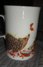 Rare Dunoon rustic rascals  'Hedgehogs' Cherry Denman mug