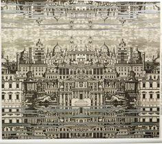 Piero Fornasetti Riflesso Wallpaper - Cole & Son.