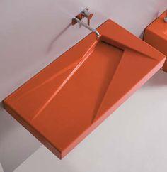 Oz ceramic wall-hung or counter basins Cuba, Laundry Craft Rooms, Vanity Units, Ceramic Design, Counter, Indoor, Bathroom, Metal, Wall