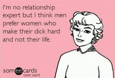 I'm no relationship expert but...