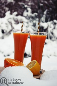 Smoothie pomarańczowo-marchewkowe