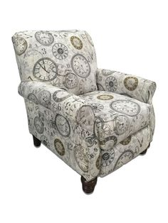 Timeless Patina Clockwork Accent Recliner by Serta Upholstery – My Furniture Place