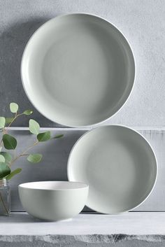 Buy 12 Piece Hutton Dinner Set from the Next UK online shop