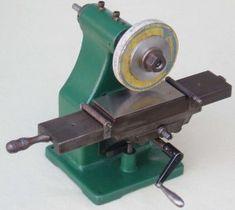 ID this miniature surface grinder? Metal Working Machines, Metal Working Tools, Metal Tools, Lathe Tools, Grinding Machine, Milling Machine, Homemade Tools, Diy Tools, Shaper Tools