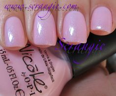 Scrangie: Nicole by OPI Kardashian Kolors Collection for Holiday 2011 -Kim-pletely in Love
