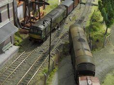 Model Train Layouts, Model Trains, Scenery, Industrial, Building, Hobby, Wood Furniture, Geek, Cars