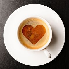 Kaffee mit Herz