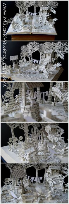 Book Art by Malena Valcárcel.